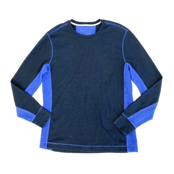 Banana Republic Thermal Shirt Mens Size Large Blue